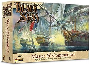 Black Seas The Age of Sail Master & Commander Starter Set Table Ship Top Combat Battle War Game 791510001