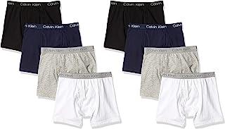 Calvin Klein Boys Underwear 8 Pack Boxer Briefs-Basics Value Pack