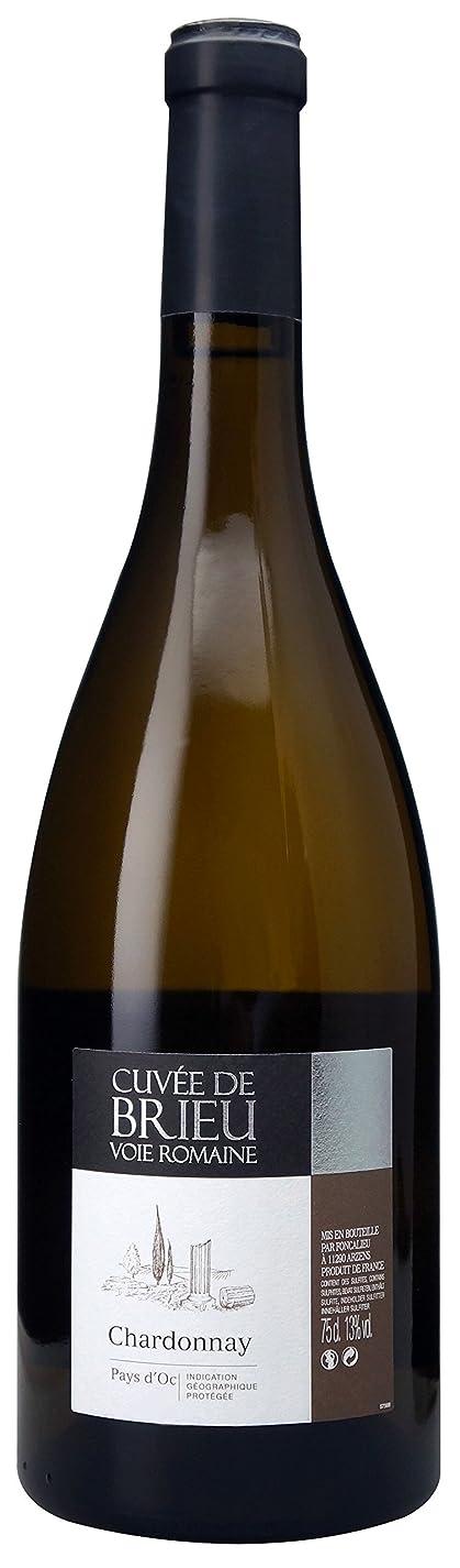 祭り告白ミュートペイ ドック シャルドネ キュヴェ ド ブリュ/Brieu [ 2017 白ワイン 辛口 フランス 750ml ]