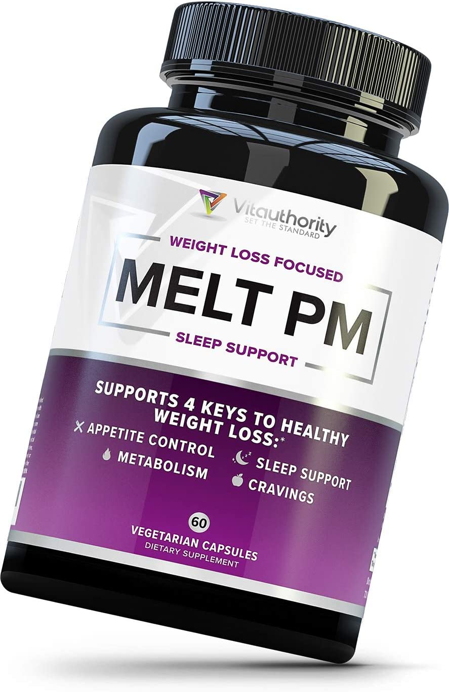 MELT PM Natural Sleep Aid OFFer Inventory cleanup selling sale Weight Loss Support Pills: Naturally