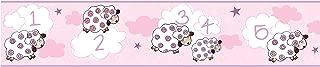 sheep wallpaper nursery