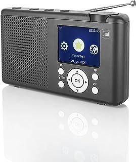 Dual MCR 200 Internet tafelradio Internet, DAB+, DAB, FM internetradio, DAB+, FM, USB, Bluetooth zwart