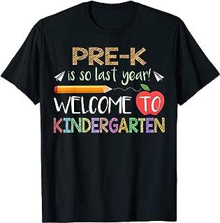 Best pre k is so last year shirt Reviews