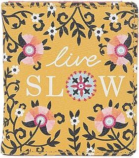 Chumbak Live Slow Yellow Snap Button Wallet