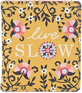 Chumbak Live Slow Yellow Snap Button Wallet