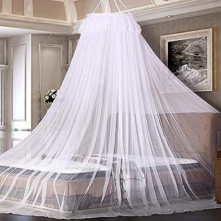 AimTop Mosquitera Cama, Mosquitera para individual y doble Bette, Mosquitera Viaje, Mosquitera Cama Matrimonio, Mosquiteras para camas Mosquitera de Fácil Instalación, Protección antimosquitos