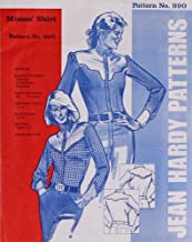 Jean Hardy #990 Misses' Shirts Sewing Pattern (Pattern Only) jeanhardy990