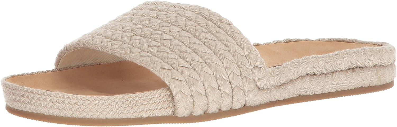 Soludos Womens Braided Pool Slide Sandal