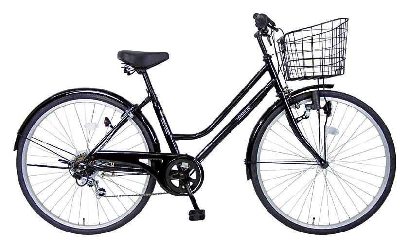 アラブサラボ思慮のない分割C.Dream(シードリーム) プロローグ P66 26インチ自転車 シティサイクル ブラック 6段変速 100%組立済み発送