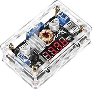 DC-DC Buck, DROK Power Supply Module LM2596 DC Buck Converter 5V-36V to 1.25-32V Step Down Voltage Regulator Stabilizer 3A...