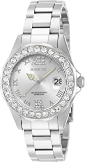Invicta Women's 15251 Pro Diver Silver Dial Crystal...