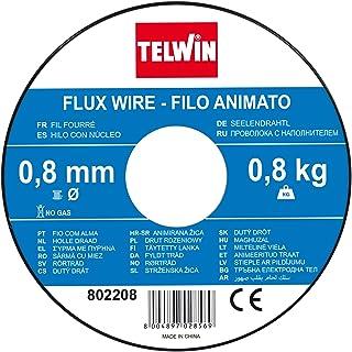 Telwin Fil Coil Halma FLUX, 0.8mm -0.8 kg à souder