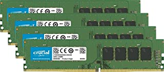 Crucial CT4K16G4DFD824A - Kit de Memoria RAM de 64 GB (16 GB x 4, DDR4, 2400 MT/s, PC4-19200, DR x8, DIMM, 288-Pin)