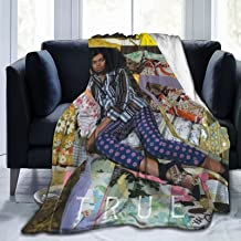 Throw Blanket Solange Knowles Ultra Soft air Conditioning Bed Blankets Cozy Flannel Blankets for Couch Bed Living Room for...
