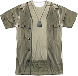 Mash-Hawkeye Costume Adult All Over Print 100% Poly T-Shirt