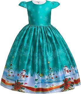 Navidad Vestido De Niñas Princesa Vestido Niño Niñas Princesa De Dibujos Animados Vestido De Desfile Vestido De Boda De Fiesta De Navidad Outfits Vestido De Tutú Flores Cumpleaños