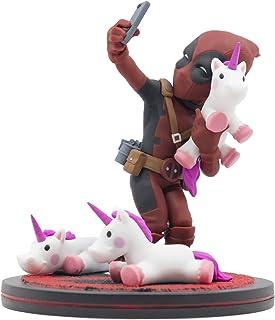 Quantum Mechanix Deadpool Unicorn Selfie Q-Fig Max Toons Figure