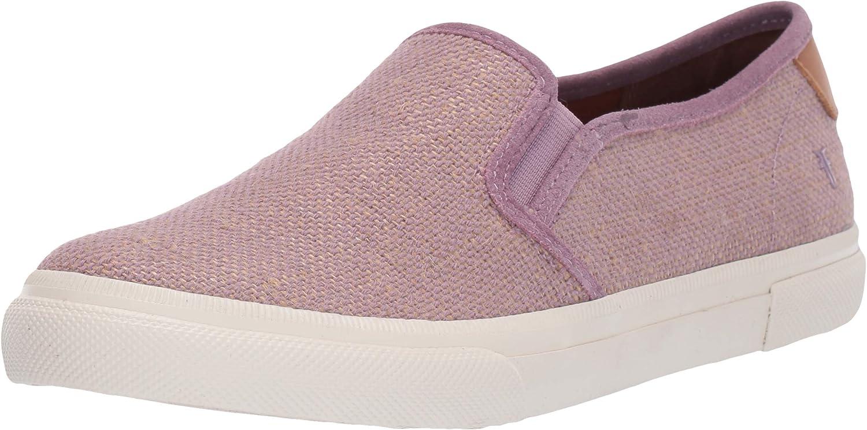 Frye Womens Gia Canvas Slip on Sneaker