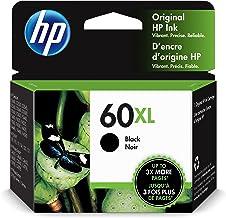 HP 60XL | Ink Cartridge | Black | Works with HP DeskJet D2500 Series, F2430, F4200 Series, F4400 Series, HP ENVY 100, 110,...