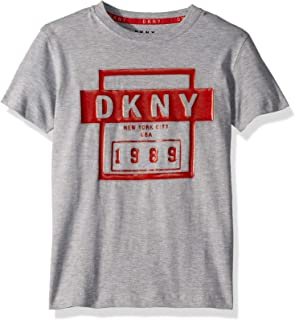 DKNY Boys' Little Short Sleeve Fashion T-Shirt
