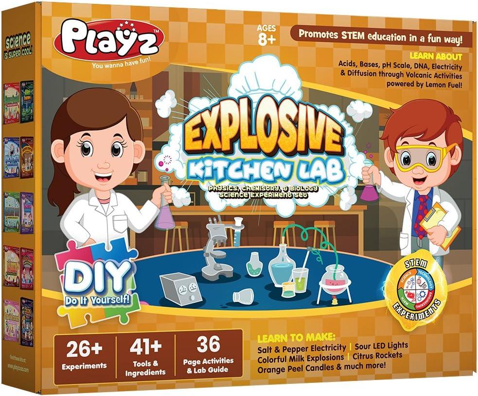 Tucson Mall Playz Explosive Kitchen Lab 26+ security Sci Physics Biology Chemistry
