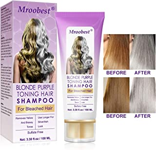 Champú Purpura,Purple Shampoo,No Yellow Shampoo, Brassy,