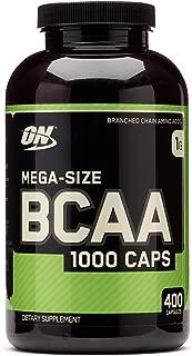 Optimum Nutrition 400 BCAA 1000 (400 Capsules)