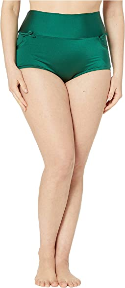 Plus Size Gilda High-Waist Swim Bottoms