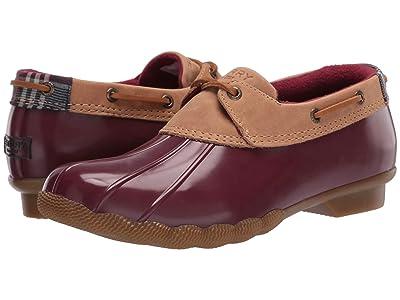 Sperry Saltwater 1-Eye Duck Boot (Tan/Cordovan) Women