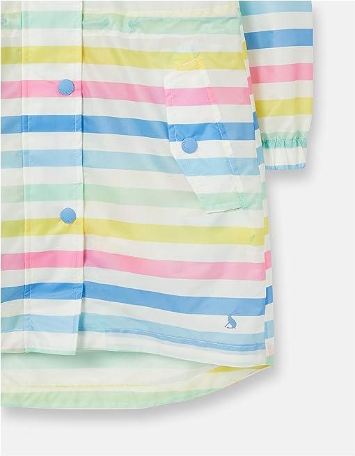 White Multi Stripe