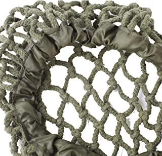 Diyueol WWII US Army M1 Helmet Net Cotton Tactical Militaria Camouflage Thick Rope Webbing Cover Reproduction