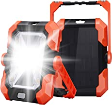 Leolee Led-bouwlamp, batterij, led-werklamp, campinglamp, op zonne-energie, USB-oplaadbaar, batterij, powerbank, magneet, ...