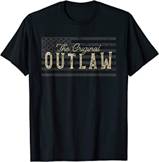 Vintage American Flag Outlaw T-Shirt