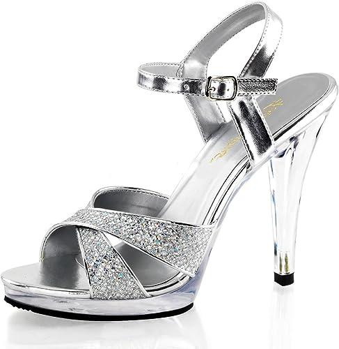Higher-Heels - Punta abierta de material sintético damen