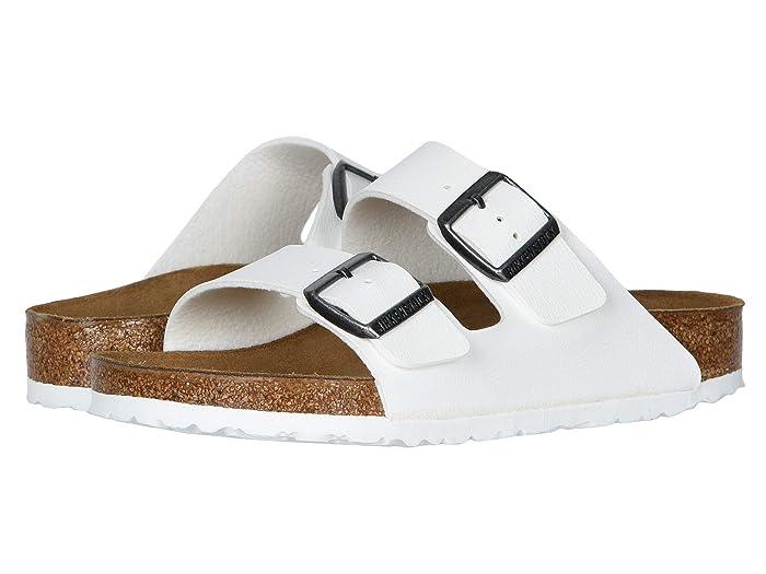 Birkenstock  Arizona (White Birko-Flortm) Sandals