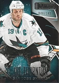 2013-14 Panini Playbook Hockey #65 Joe Thornton /249 San Jose Sharks