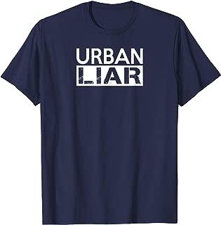 Urban Liar Blue and White Anti Ohio Coach Fan Shirt