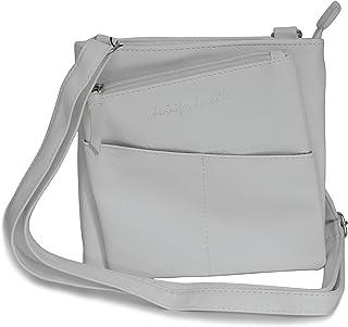Jennifer Jones - kleine -DamenHandtasche Clutch Umhängetasche Abendtasche Ausgehtasche Schultertasche (Weiß) - präsentiert...