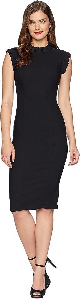 Cap Sleeve Laverne Wiggle Dress