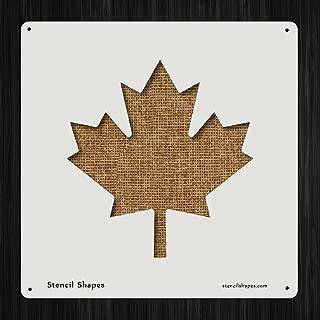 Maple Leaf Canada Nature Plan Style 12223 DIY Plastic Stencil Acrylic Mylar Reusable