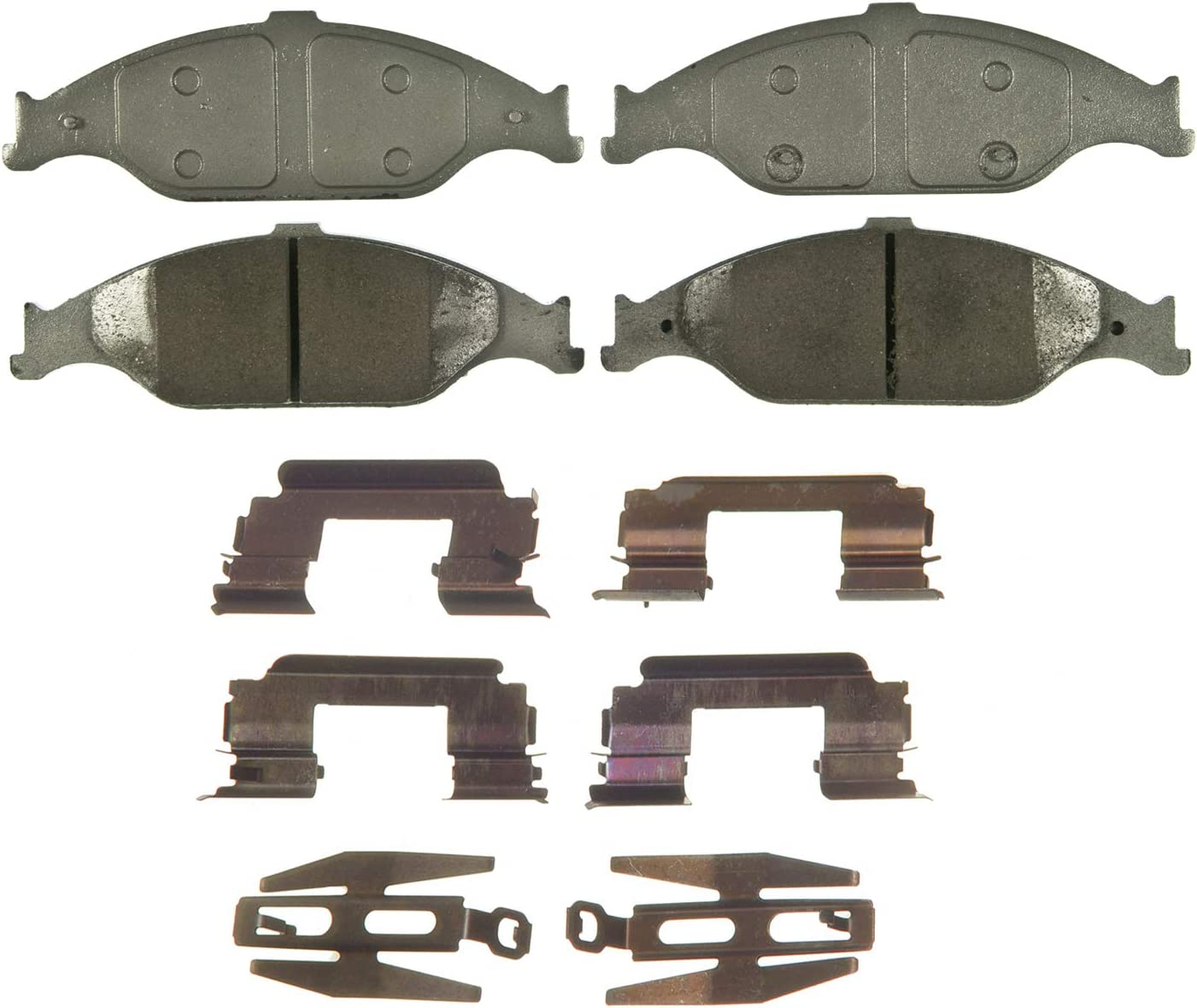 Wagner ThermoQuiet QC804 Ceramic Brake Pad Disc NEW San Diego Mall before selling ☆ Set