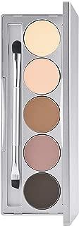 Colorescience Brow Kit, Mineral Eyebrow Makeup Powder & Shaping Brush, Light to Medium Shades