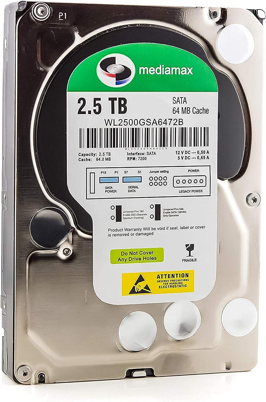 Mediamax 3 5 Inch Internal Hard Drive Computers Accessories