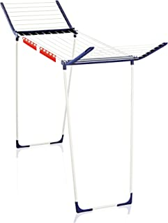 Leifheit 81650 Pegasus MAXX Clothes Airer with 18 m Drying Space