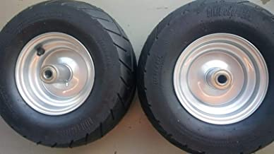 2pcs Dixie Chopper Original Complete Front Wheels With 13x6.5-6 Motorcycle Tire 400438