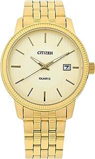 ساعة يد انالوج بحركة كوارتز للرجال مع نافذة لعرض التاريخ من سيتيزن - DZ0052-51P