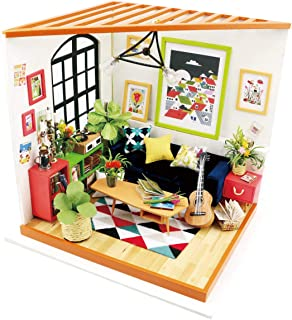 Rolife DIY Mini House Furniture Kit with Furniture and Accessories-Home Decor- Model Building Sets-Super Fun Playset-Creat...