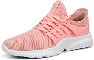 Womens Runing Sneakers Non Slip Lightweight Mesh Breathable Tennis Shoes Athletic Walking Shoes