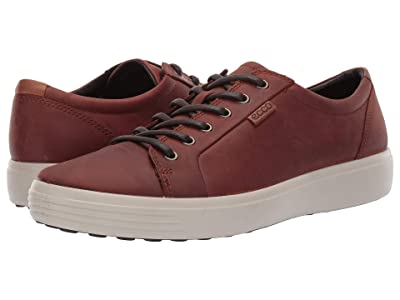 ECCO Soft 7 Sneaker (Cognac) Men