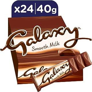 Galaxy Smooth Milk Chocolate Bars, 40g x 24